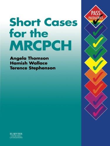 9780443070402: Short Cases for the MRCPCH (MRCPCH Study Guides)