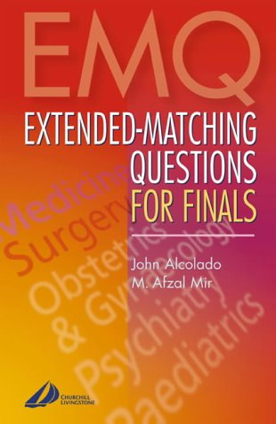 9780443070860: Extended-Matching Questions for Finals
