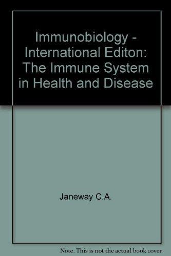 IMMUNOBIOLOGY INTERNATIONAL STUDENT EDITION: Janeway, Charle