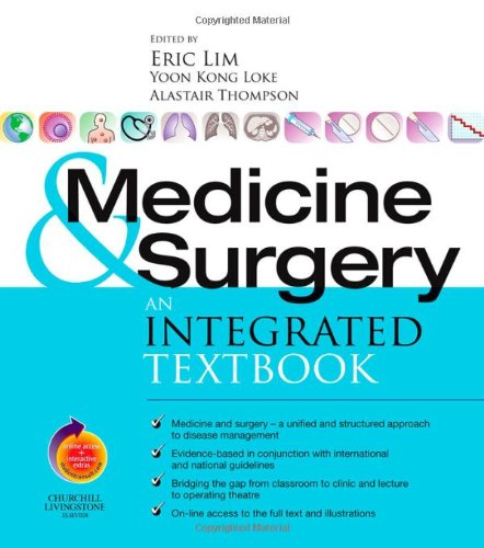 9780443072604: Medicine and Surgery: An integrated textbook With STUDENT CONSULT online access, 1e