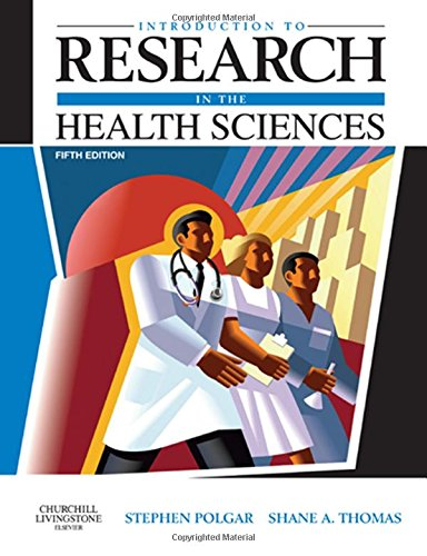9780443074295: Introduction to Research in the Health Sciences, 5e