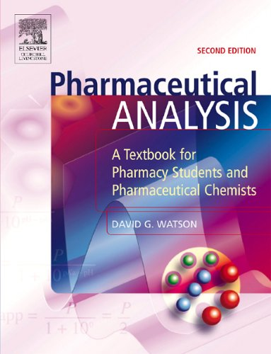 9780443074455: Pharmaceutical Analysis: A Textbook for Pharmacy Students and Pharmaceutical Chemists, 2e