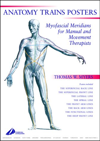 9780443074844: Anatomy Trains Posters: Set of 8 A2 Posters, 1e