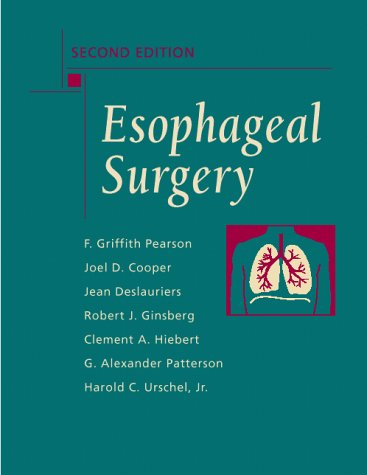 9780443076053: Esophageal Surgery