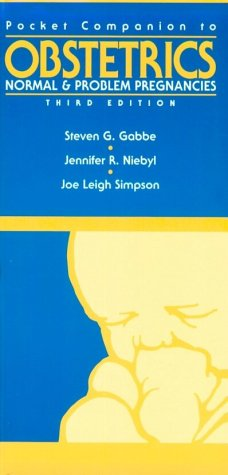 Pocket Companion to Obstetrics : Normal and: Jennifer R. Niebyl;