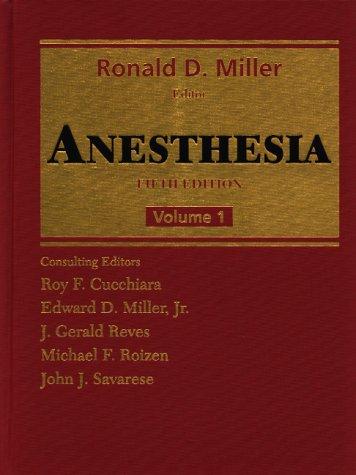 9780443079887: Anesthesia: 2-Volume Set