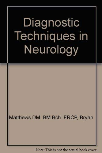 9780443086212: Diagnostic Tests in Neurology