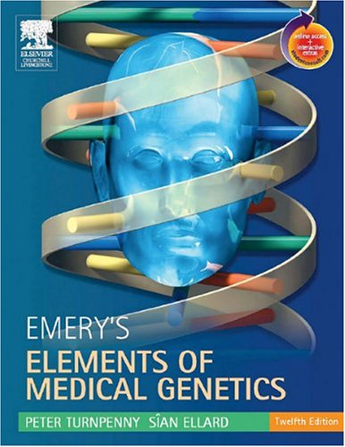 9780443100451: Emery's Elements of Medical Genetics: With STUDENT CONSULT Online Access