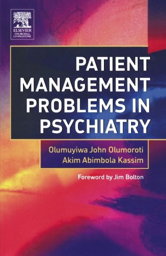 9780443101618: Patient Management Problems in Psychiatry, 1e
