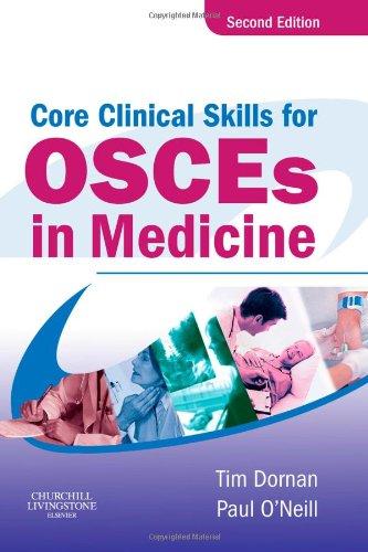 9780443101649: Core Clinical Skills for OSCEs in Medicine, 2e