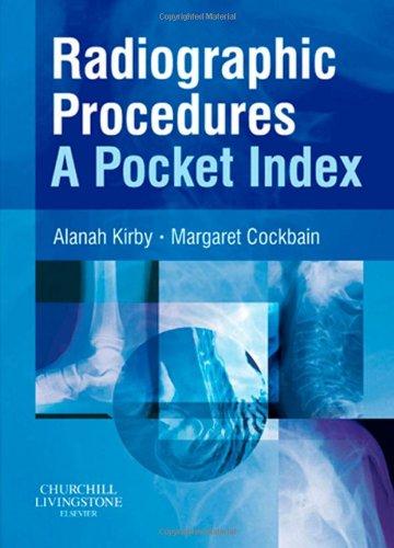 9780443101779: Radiographic Procedures: A Pocket Index