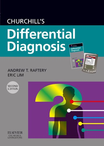 9780443101892: Churchill's Differential Diagnosis, Pocketbook with CD-ROM PDA Software: Book and CD ROM (Churchill Pocketbooks)