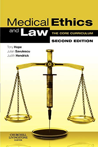 9780443103377: Medical Ethics and Law: The Core Curriculum, 2e