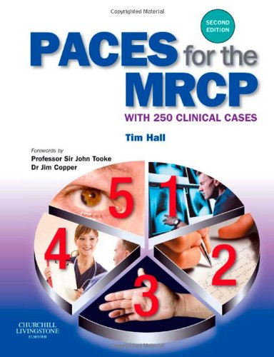 9780443103704: PACES for the MRCP: with 250 Clinical Cases, 2e