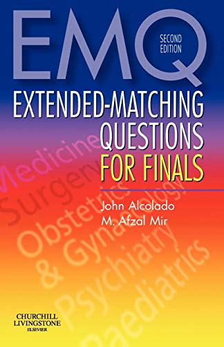 9780443103766: Extended-Matching Questions for Finals, 2e