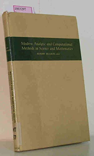 Methods for the Numerical Solution of Partial: Dale, Von Rosenberg