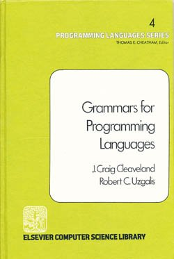 9780444001870: Grammars for Programming Languages (Elsevier computer science library)