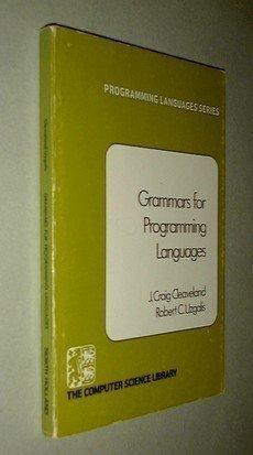 9780444001993: Grammars for Programming Languages. (=Programming Languages Series; 4).