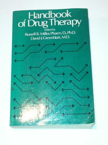 9780444002532: Handbook of Drug Therapy