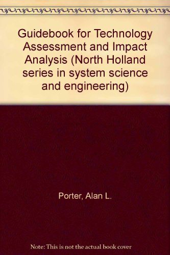 9780444003140: A Guidebook for technology assessment and impact analysis (North Holland series in system science and engineering ; 4)