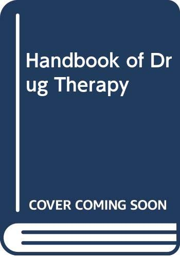 9780444003294: Handbook of Drug Therapy