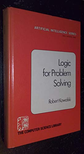 9780444003652: Logic for Problem Solving (Artificial intelligence series)