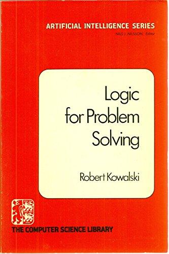 9780444003683: Logic for Problem Solving.