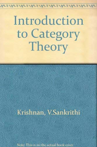 9780444003836: Introduction to Category Theory