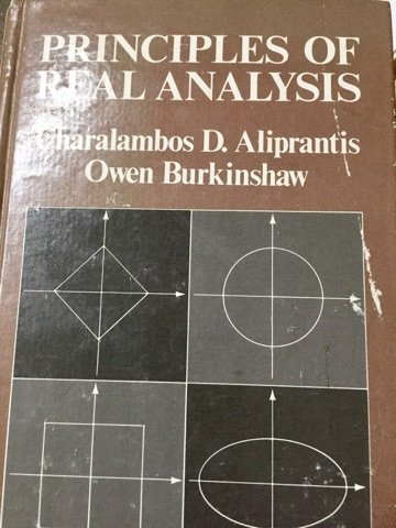 9780444004482: Principles of real analysis