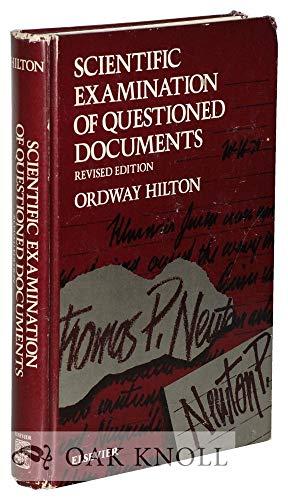 9780444006288: Scientific Examination of Questioned Documents