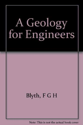 9780444009463: A geology for engineers