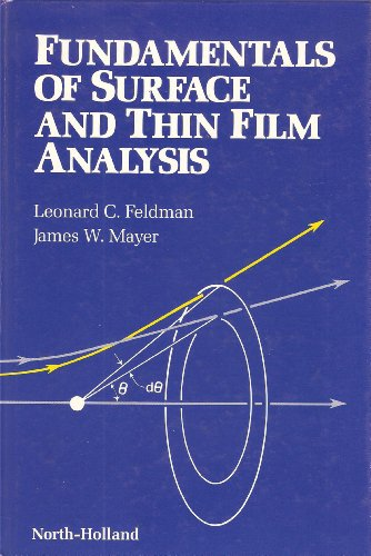9780444009890: Fundmtls Surface Thin Film Ana