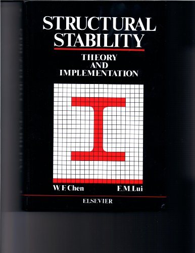 9780444011190: Structural Stability: Theory and Implementation