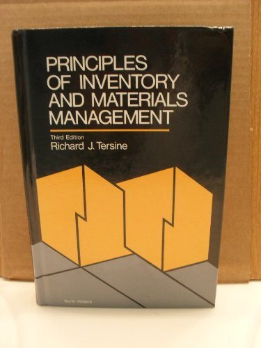 9780444011626: Principles of Inventory and Materials Management