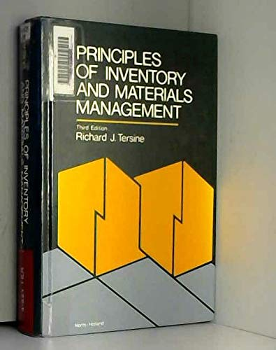 Principles of Inventory and Materials Management: Tersine, Richard J.