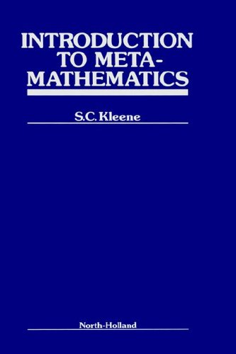 9780444100887: Intro to Metamathematic (Bibliotheca Mathematica, a Series of Monographs on Pure and)
