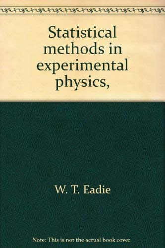 9780444101174: Statistical methods in experimental physics,