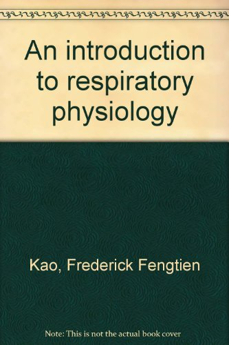 9780444103765: An introduction to respiratory physiology