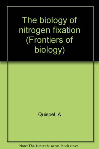 9780444106308: The biology of nitrogen fixation (Frontiers of biology)