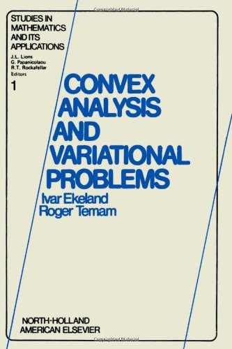 9780444108982: Convex analysis and variational problems (Studies in mathematics and its applications)