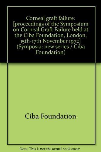 Corneal Graft Failure: Ciba Foundation