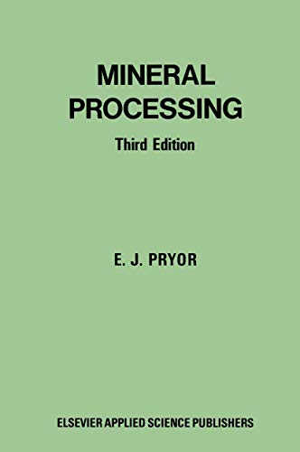 9780444200105: Mineral Processing