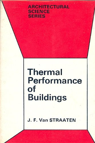 9780444200112: Thermal Performance of Buildings