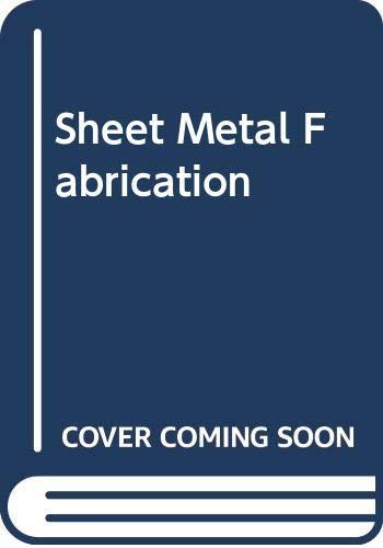 9780444201065: Sheet Metal Fabrication