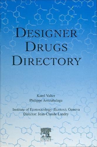 9780444205254: Designer Drugs Directory