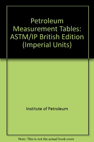 9780444399946: Petroleum Measurement Tables /