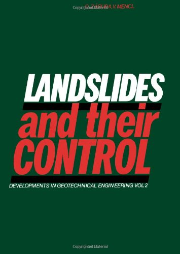 Landslides and Their Control: Zaruba, Quido, Mencl,