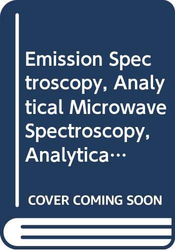 Emission Spectroscopy, Analytical Microwave Spectroscopy, Analytical Applications: G. Svehla