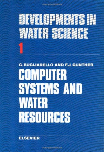 Computer systems and water resources, Volume 1: Unknown, Author