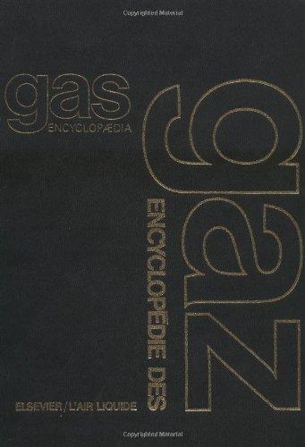 9780444414922: Gas Encyclopaedia / Encyclopédie des gaz